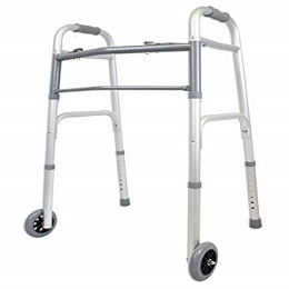 FOLDABLE WALKER WITH WHEELS